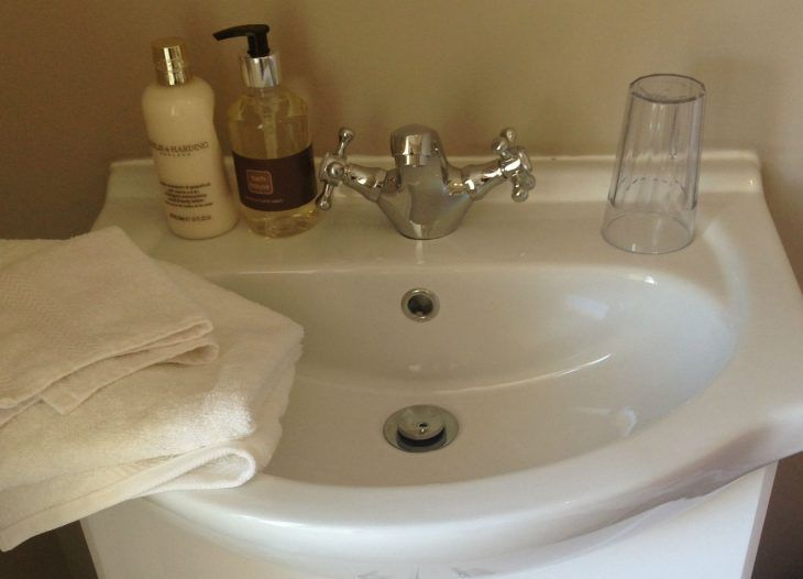 In room washing basin